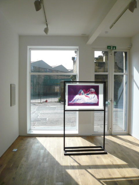 Installation view of the exhibition Dummy